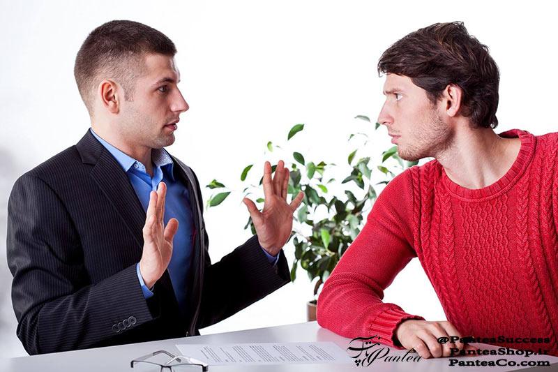 نحوه برخورد با مشتری عصبانی