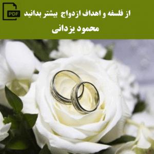 از فلسفه و اهداف ازدواج بیشتر بدانید - محمود یزدانی