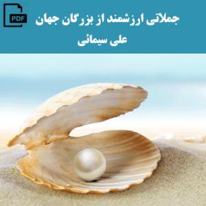جملاتی ارزشمند از بزرگان جهان - علی سیمائی