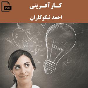 کارآفرینی - احمد نیکوکاران